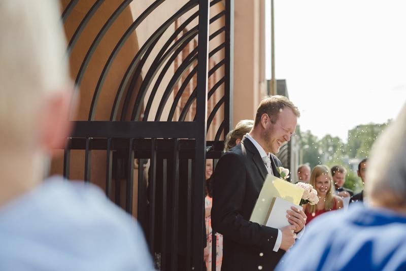 Vasa bröllopsfotograf Julia Lillqvist bröllop i Brändö kyrka