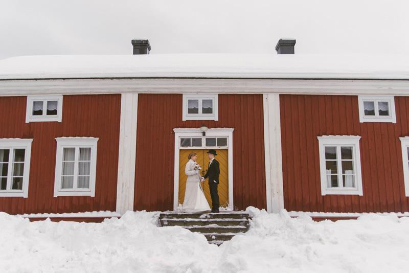 Ester & Oscar | vinterbröllop Kronoby