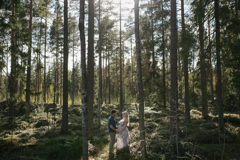gravidfotografering Vasa fotograf Julia Lillqvist