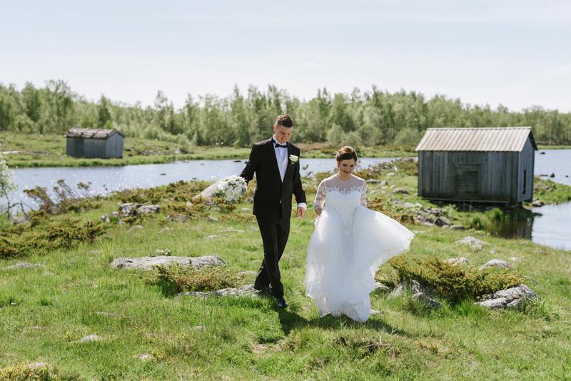 Jannika & Erik | Björköby bröllopsfotograf