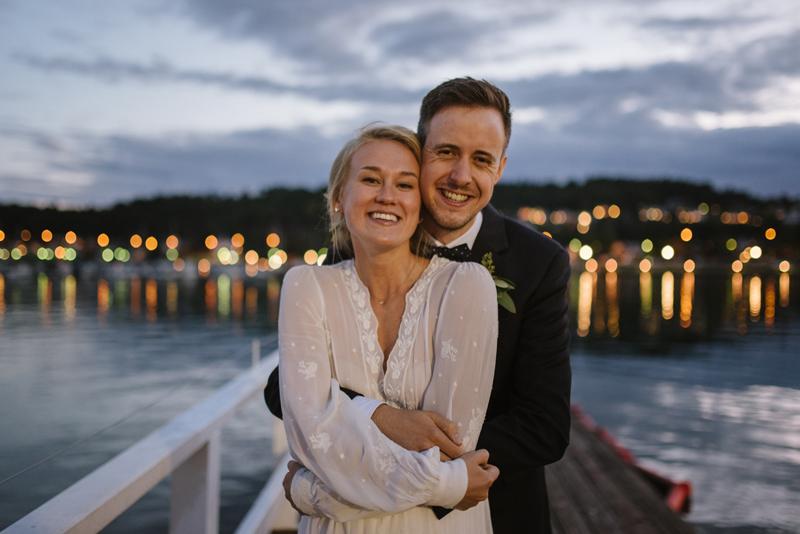 Elise & Magnus | Sandefjord bryllupsfotograf Norge