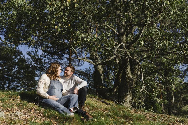 gravidfotografering karis fotograf raseborg