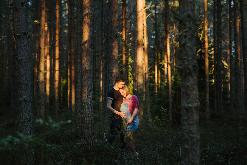 Maja & Thomas | Gravidfotografering